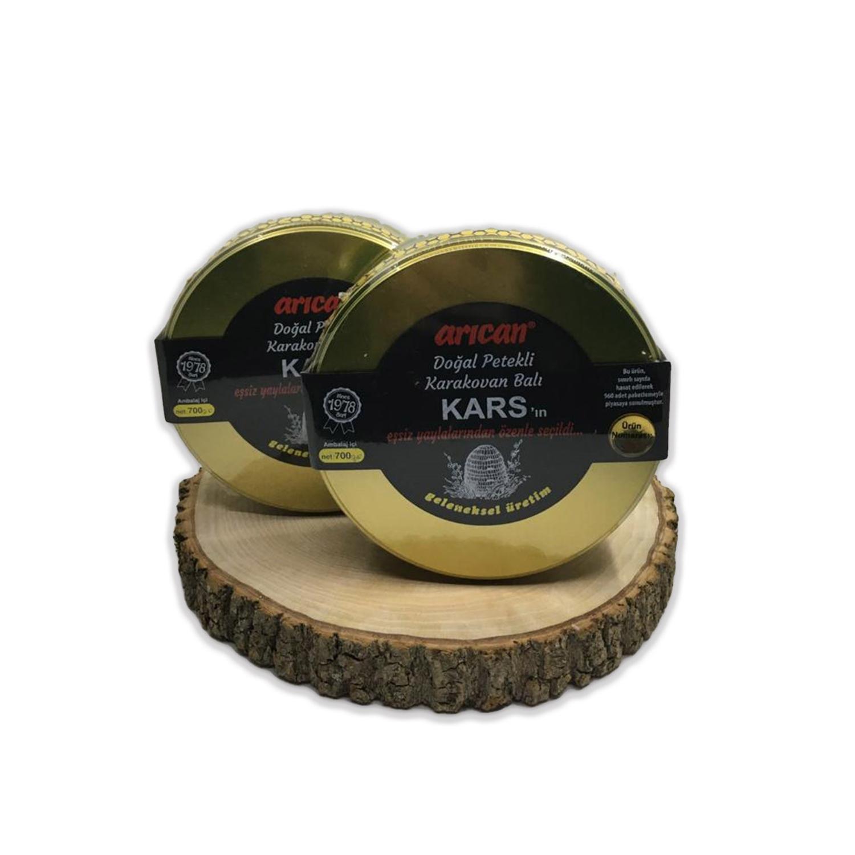 Arıcan Kars Doğal Petekli Karakovan Balı 700 Gr