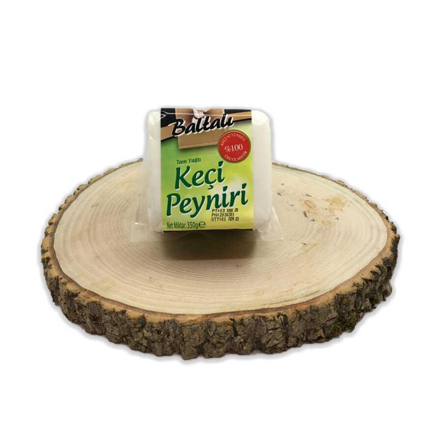 - Baltalı Keçi Beyaz Peynir 350 GR