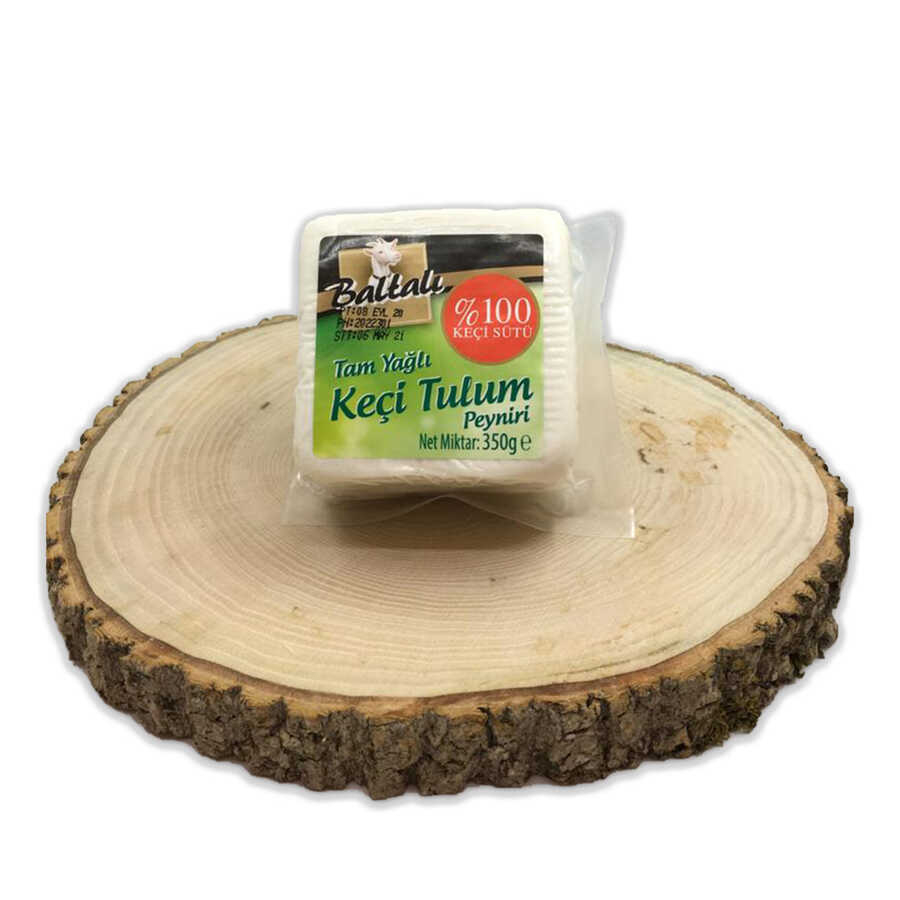 - Baltalı Keçi Tulum Peyniri 350 GR