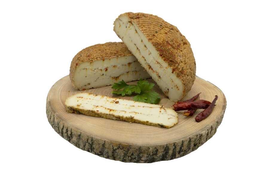 Biberli İsli Çerkez Peyniri