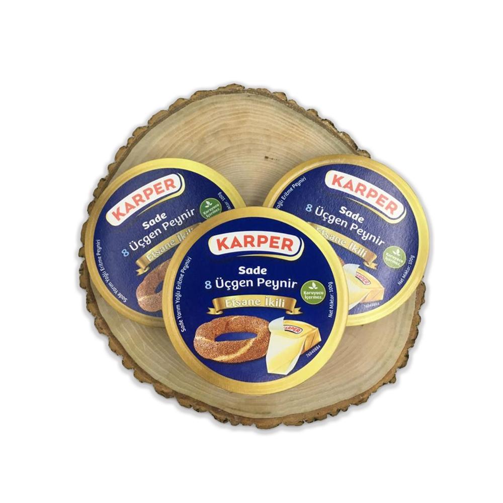 - Karper Sade Üçgen Peyniri 100 Gr