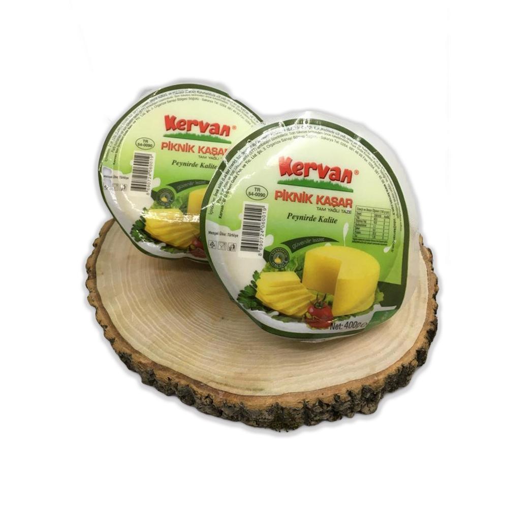 - Kervan Piknik Kaşar Peyniri 400 Gr