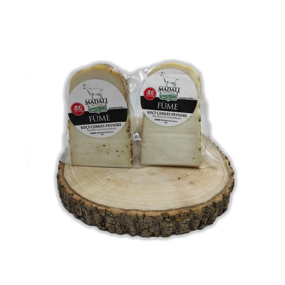 - Madalı Füme Keçi Çerkes Peyniri 250 Gr
