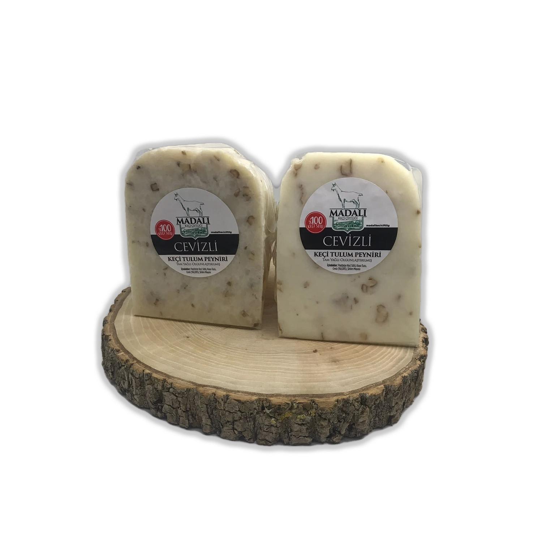 Madalı Keçi Cevizli Tulum Peyniri 250 Gr