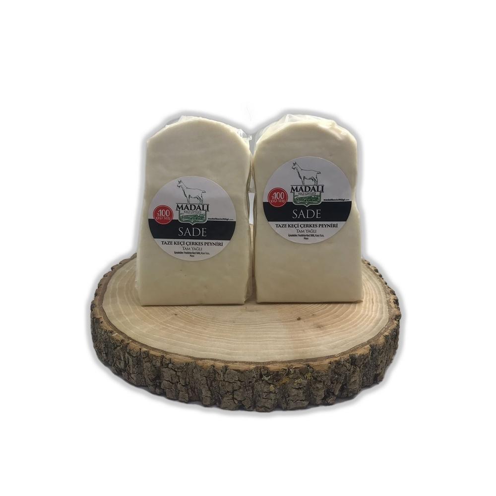 - Madalı Keçi Sade Çerkes Peyniri 250 Gr
