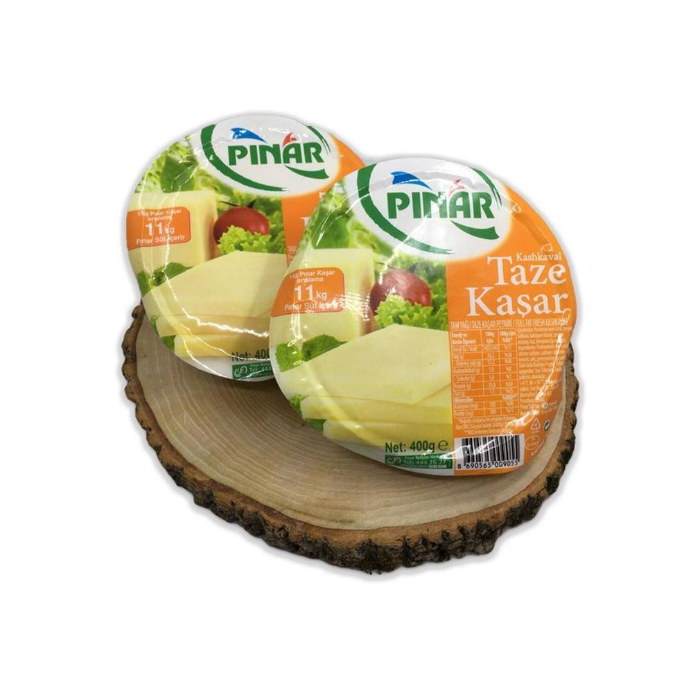 - Pınar Taze Kaşar Peyniri 400 Gr